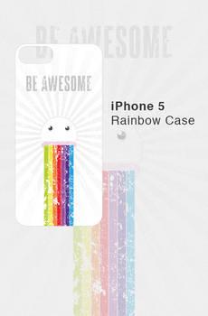 iPhone 5 Rainbow Case