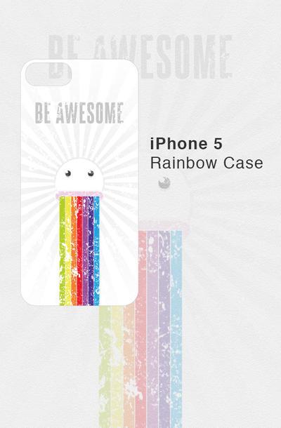 iPhone 5 Rainbow Case by Sirri-R-P