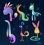 [CLOSED] More strange creatures adopts auction