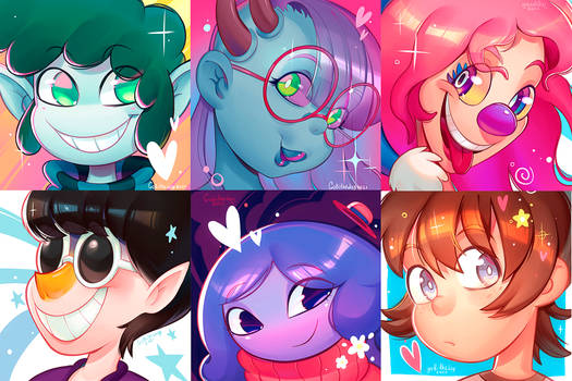 Finished icon commissions!