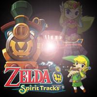 Legend of Zelda -Spirit Tracks by l-Silver-l