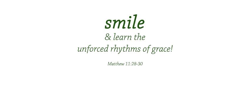 The Unforced Rhythms of Grace by Ah-Nee-May-Nee-Yak