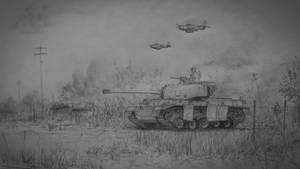 Combat Amongst Hedgerows
