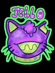 Jello cat head by Proxyoutsider