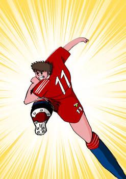 Captain Tsubasa Sketch 2