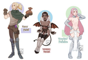 [CLOSED] Fantasy Set by ugly-g0d
