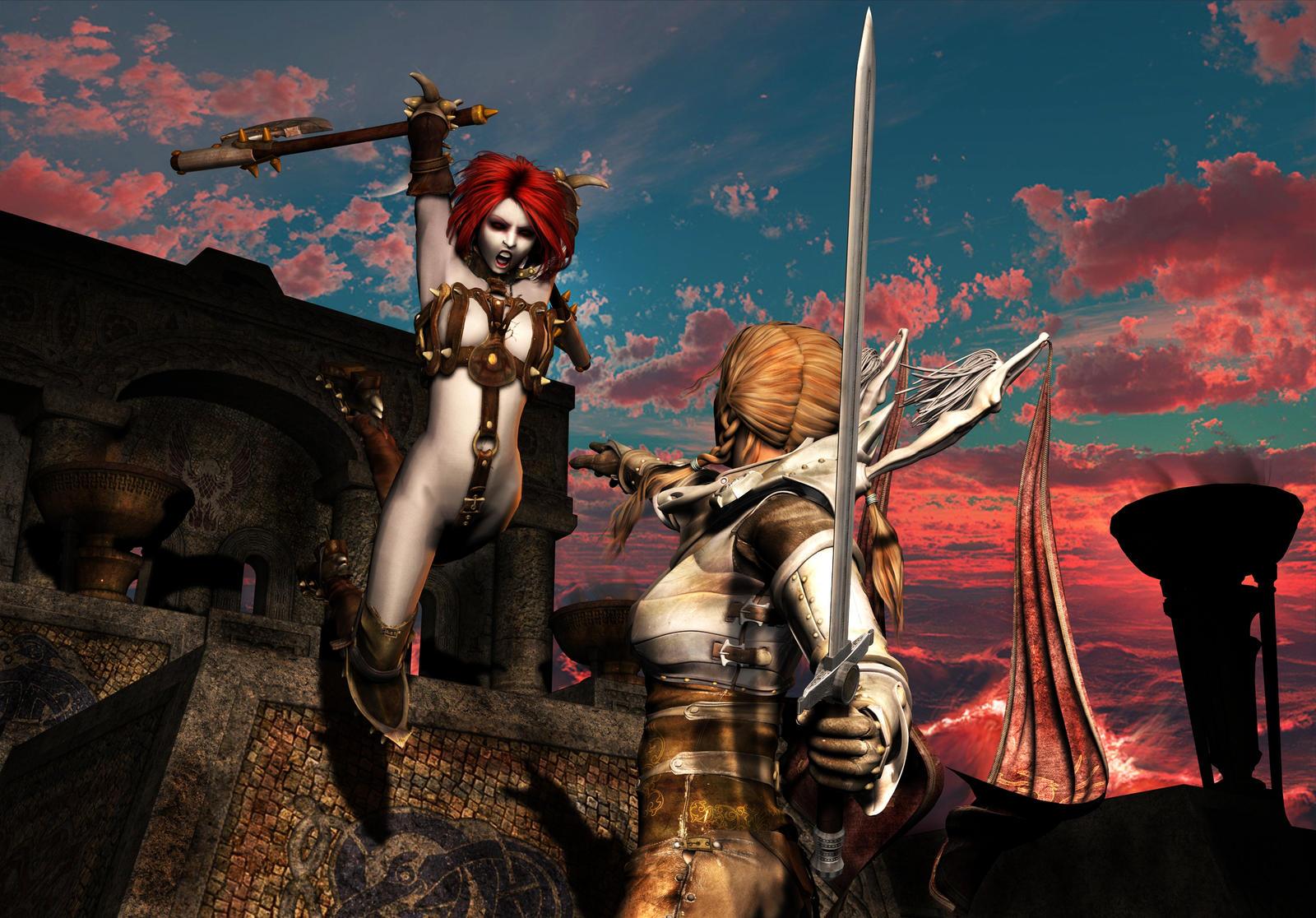 Good vs Evil by Aphrodite-NS