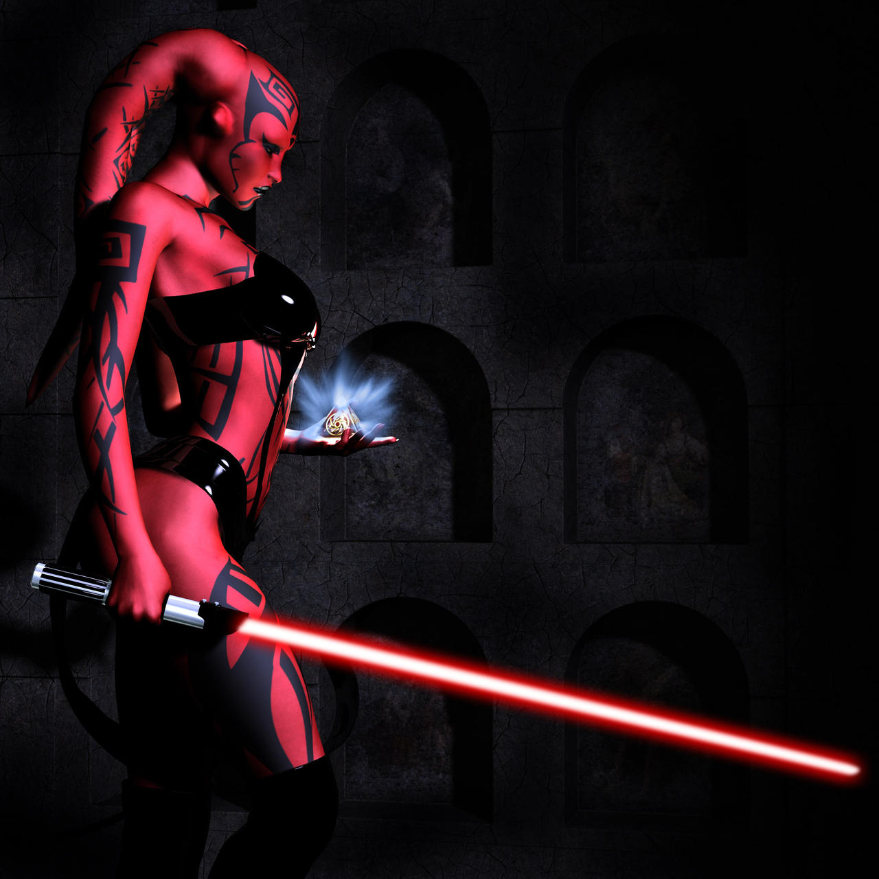 Part 14 / 8 - Page 2 Darth_Talon_and_the_Holocron_by_Aphrodite_NS