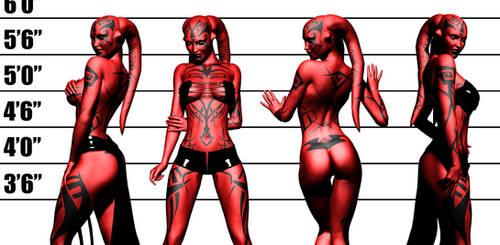 Darth Talon - The Line Up by Aphrodite-NS