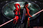 Darth Talon and Darth Maladi