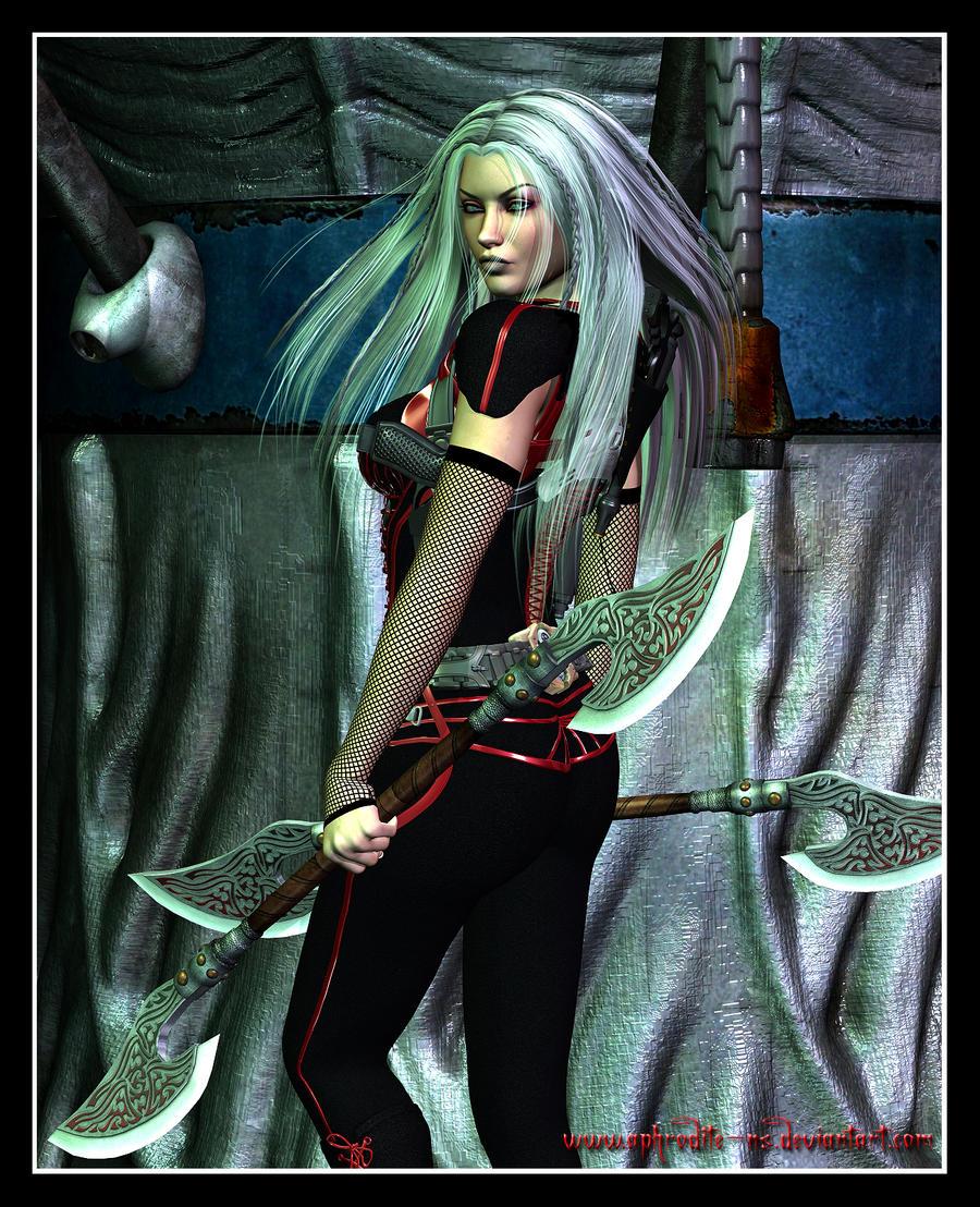 Echani Warrior by Aphrodite-NS on DeviantArt