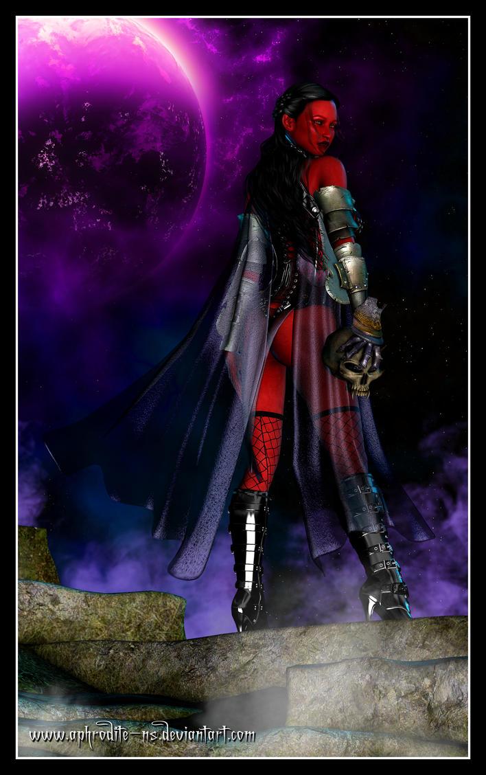 Azra'dite - Sith Warrior by Aphrodite-NS