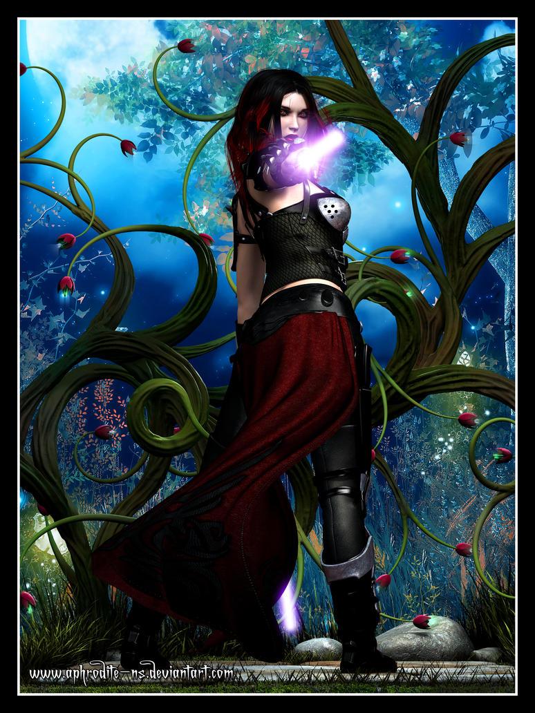 Darth Anodyne Vao on Felucia by Aphrodite-NS