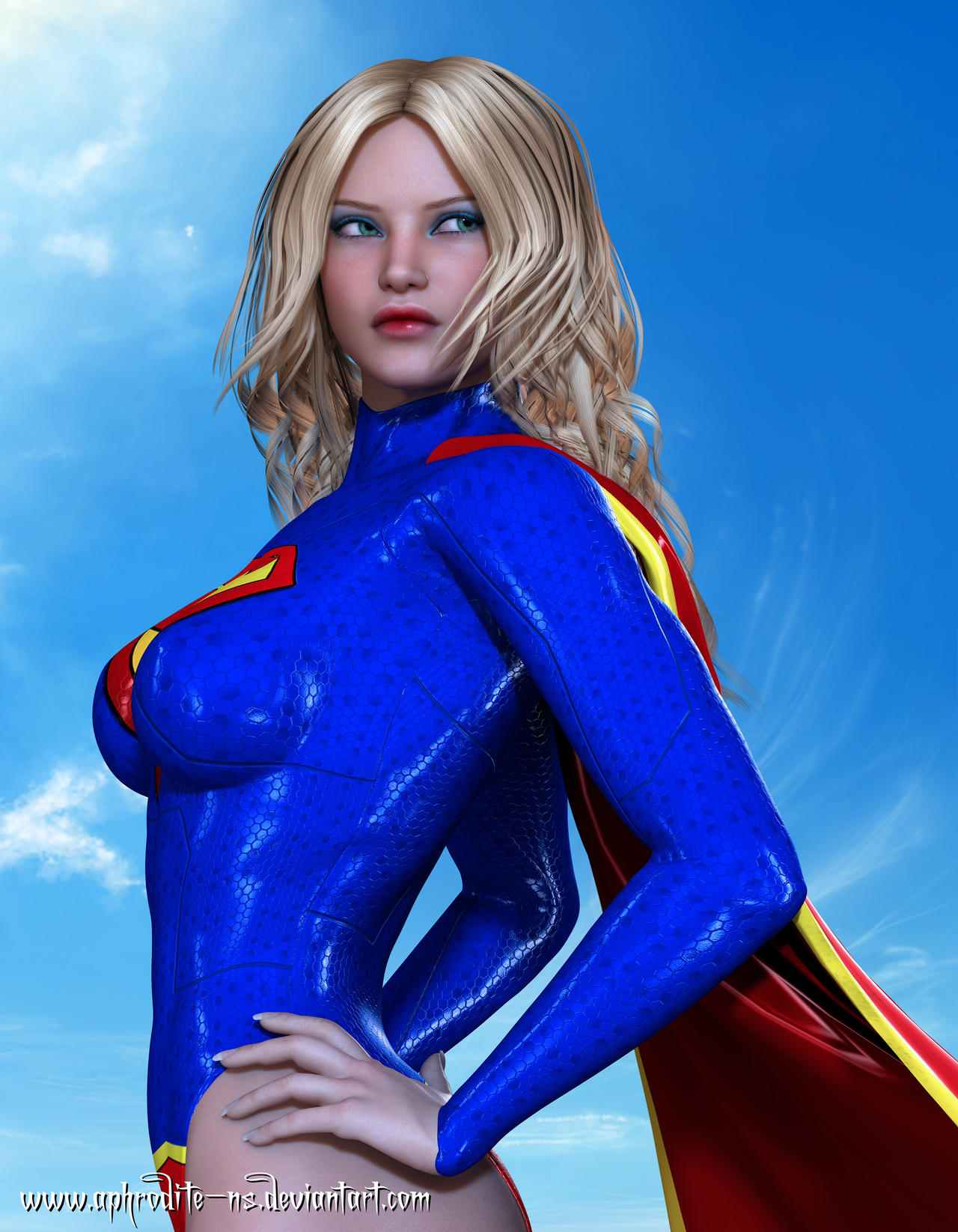 Supergirl - DC New 52 by Aphrodite-NS