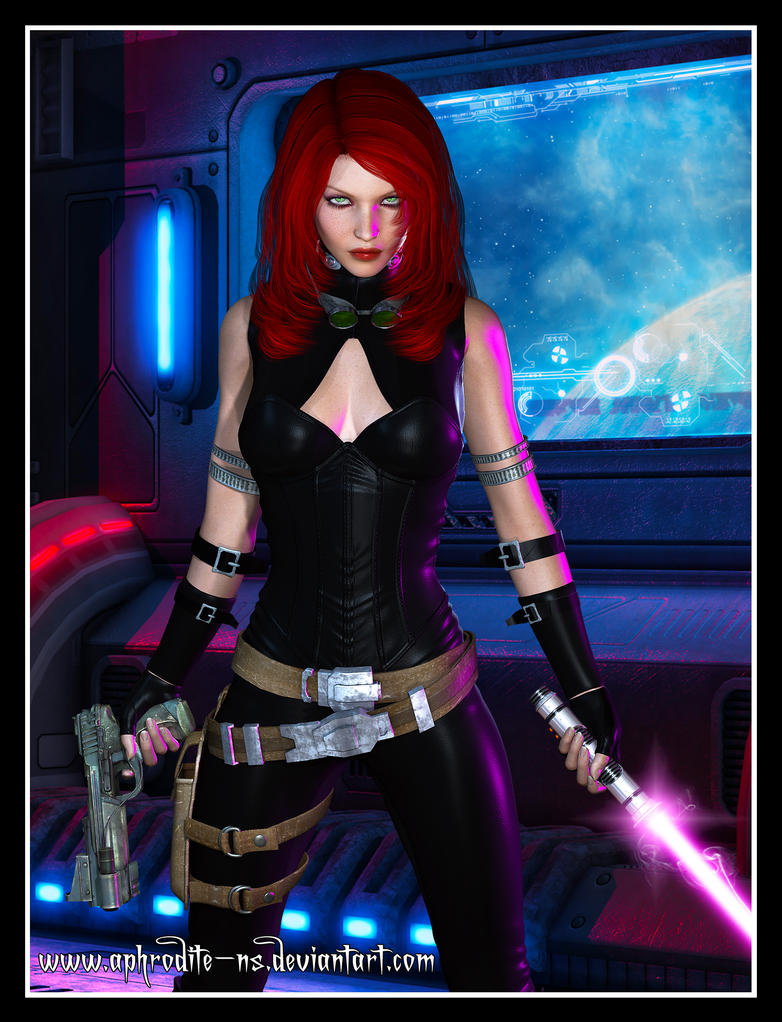 Mara Jade by Aphrodite-NS