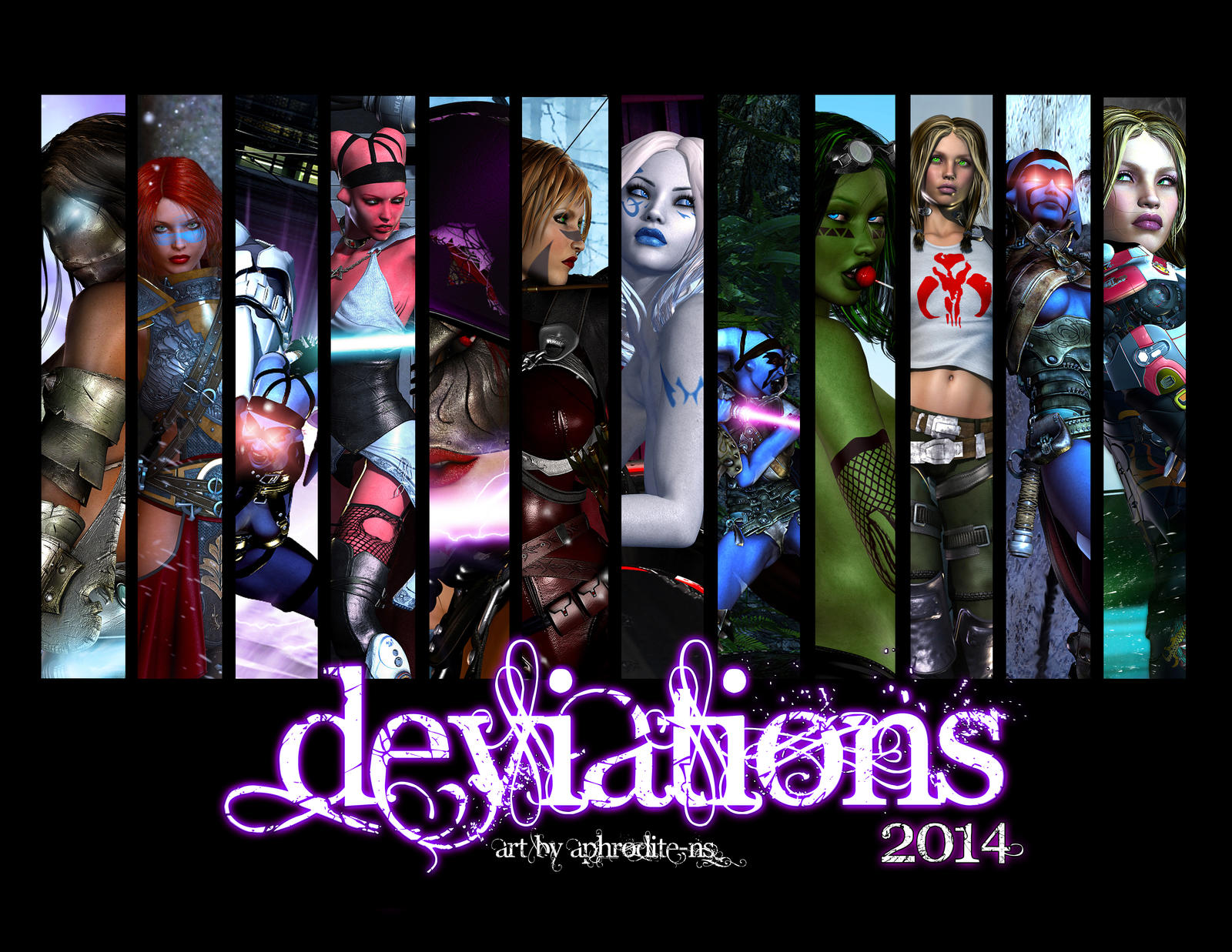 Deviations - 2014 by Aphrodite-NS