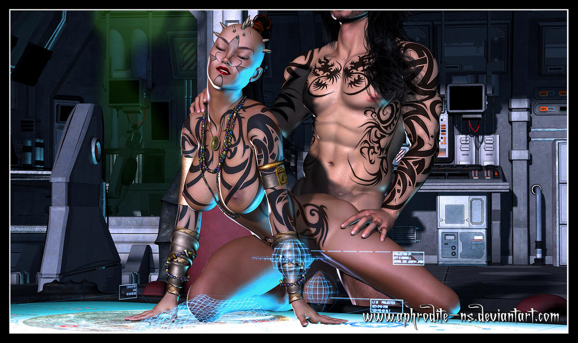 Commission - Rhalia Intimate by Aphrodite-NS
