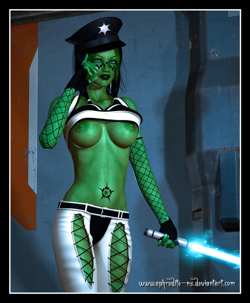 Commission - Jedi Peace Officer by Aphrodite-NS