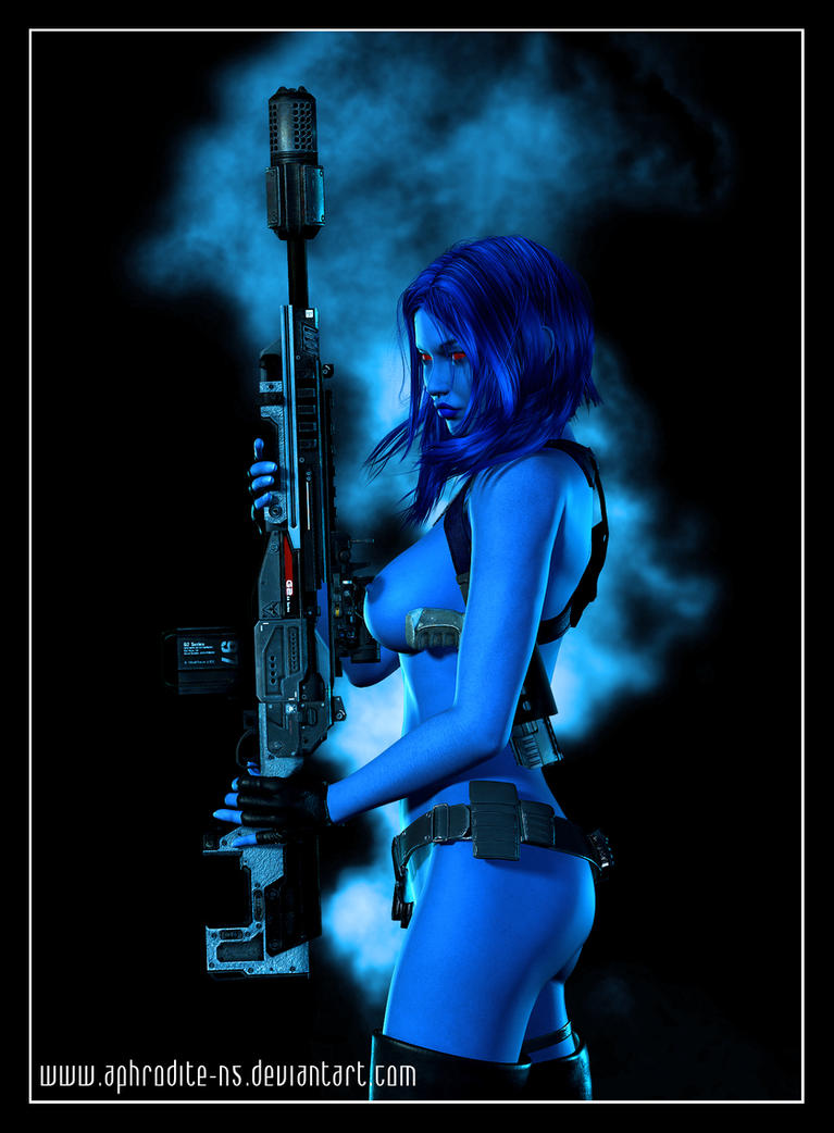 Naiah - This is my rifle .... by Aphrodite-NS