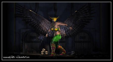 Hawkgirl by Aphrodite-NS