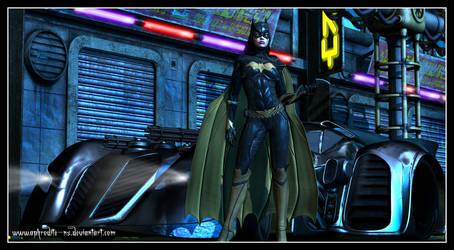 Batgirl - Arkham Knight by Aphrodite-NS