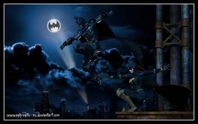 Arkham Knights by Aphrodite-NS