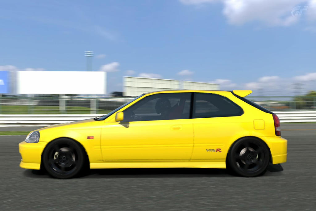 Honda Civic Type R 1998 (EK9) Spoon Tuned by Gendou-Dorifto-Kun on ...