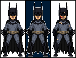 Batman Arkham Asylum - Batman by dannysmicros