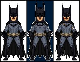 Batman Arkham Asylum - Batman by dannysmicros