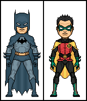The New Batman and Robin by dannysmicros