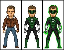 My Green Lantern Movie by dannysmicros