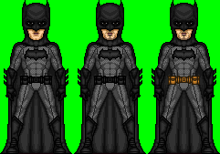 Ben Affleck as Batman by dannysmicros