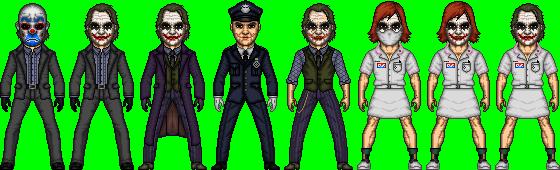 The Dark Knight Joker Heath Ledger by dannysmicros