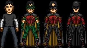 Batman Elite Robin Tim Drake by dannysmicros