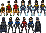 Comic Evolution of Dick Grayson