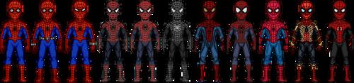 Spider-Man Movie Legacy UPDATED by dannysmicros