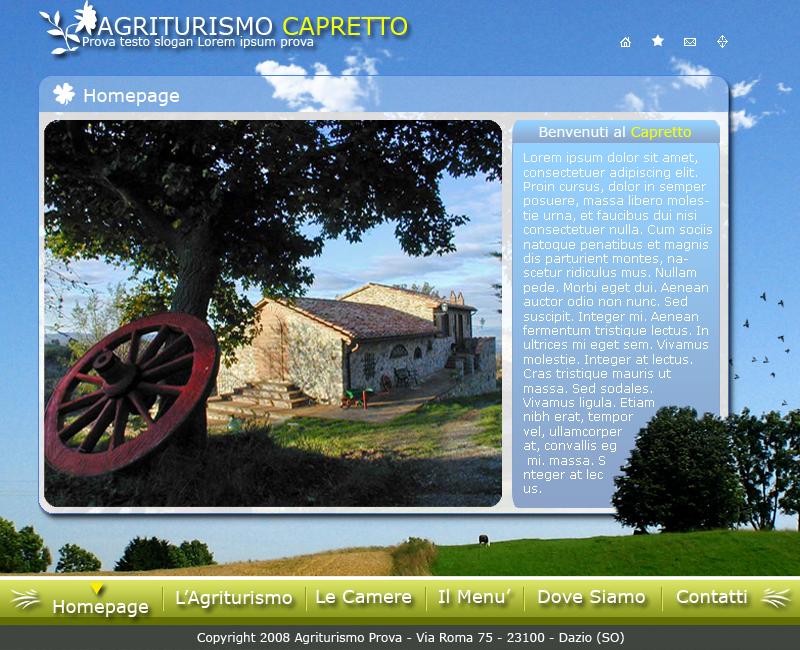 Web Template by ironbondio