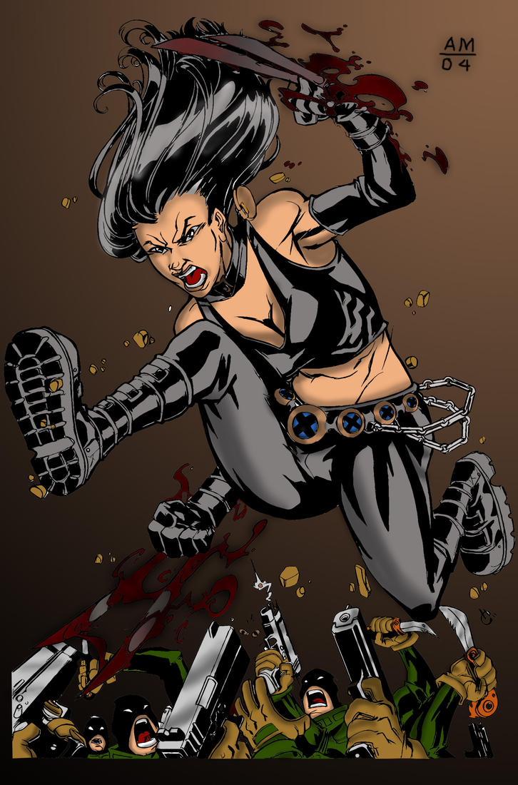 X-23 Colored by enigma004