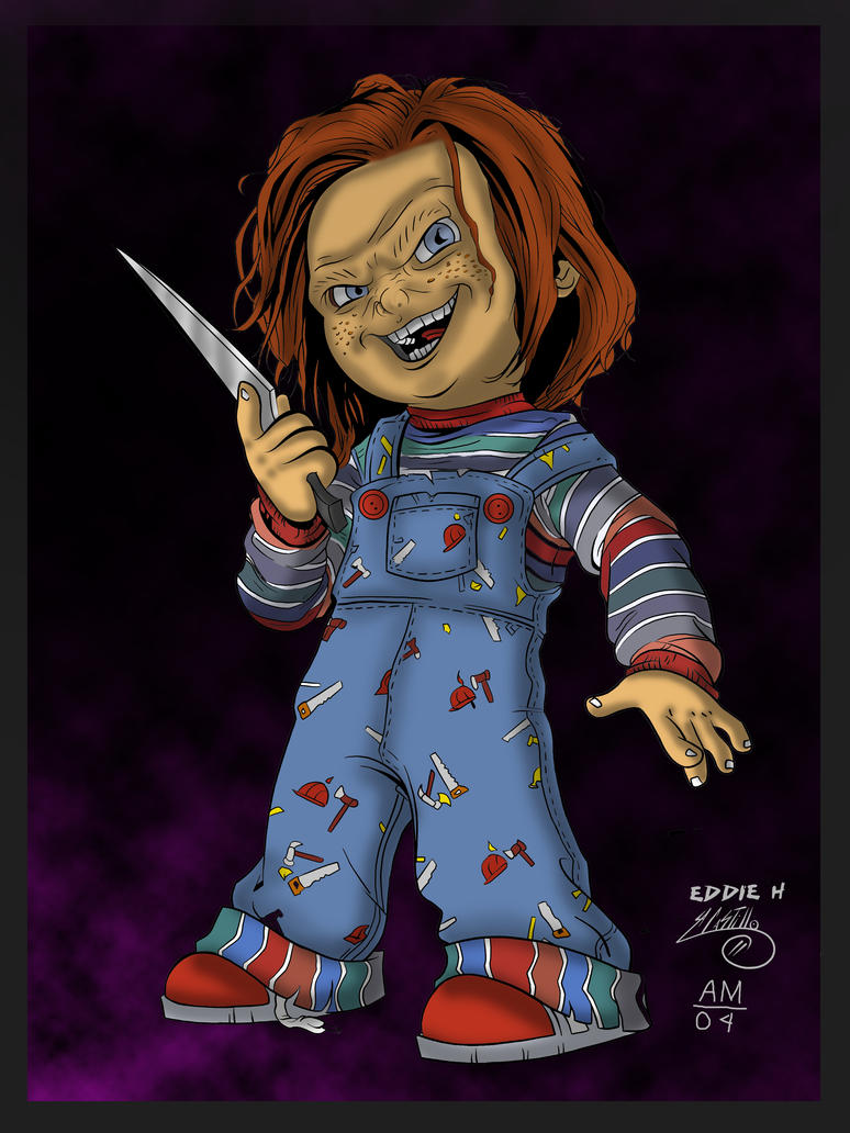 Chucky Childs Play Drawings Chucky Childs Play 1 By   Apps Directories