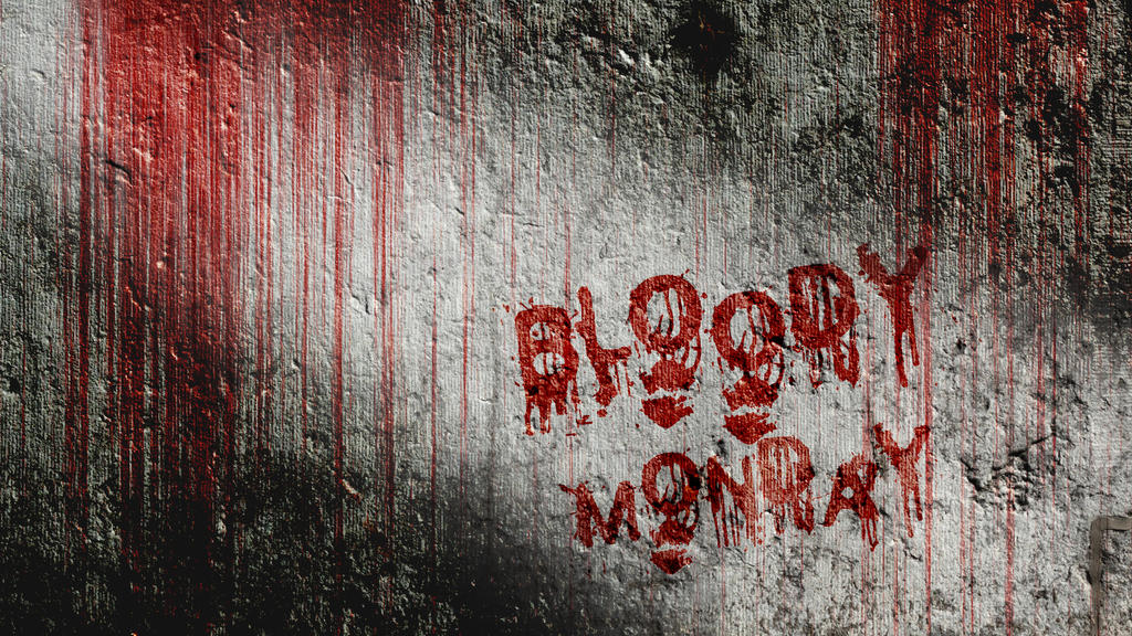 Text Effects: Bloody Wall by Rudi-Chama