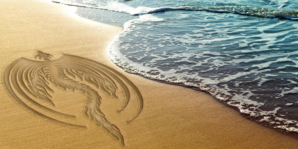 Beach Dragon by Rudi-Chama