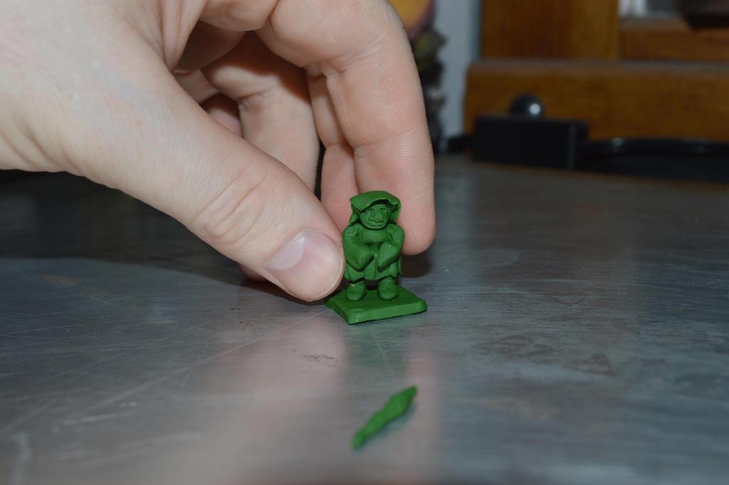 Goblin Shaman figure WIP by Nazo-The-Unsolvable