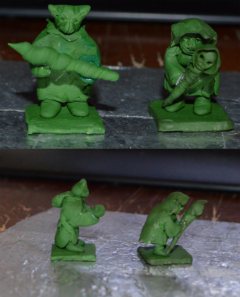 Goblin Shaman figure WIP2 by Nazo-The-Unsolvable