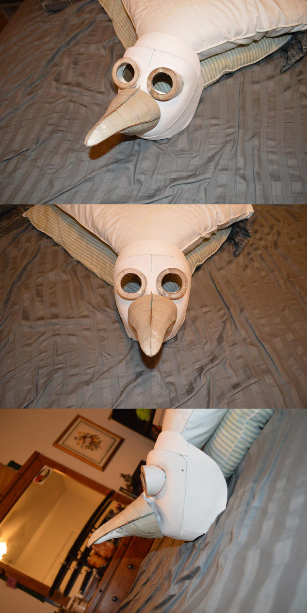 WIP: New Plague Doctor Mask by Nazo-The-Unsolvable