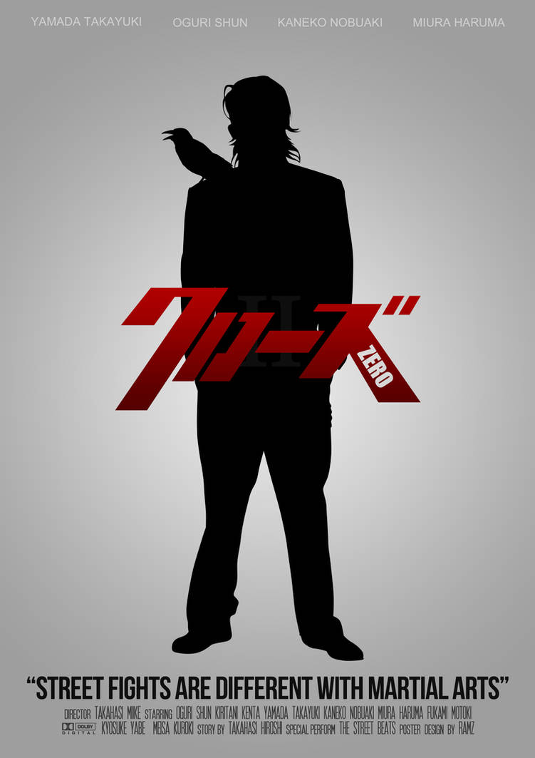 Crows Zero II Other Movie Poster by ARaFah