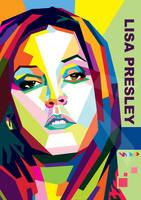 Lisa Presley In WPAP by ARaFah