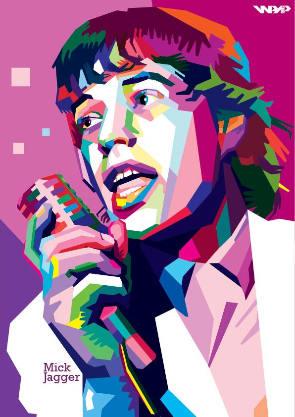 Mick Jagger In WPAP