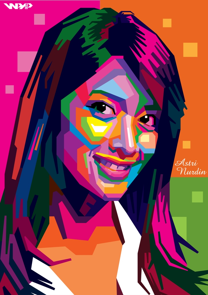 Astri Nurdin In WPAP by ARaFah