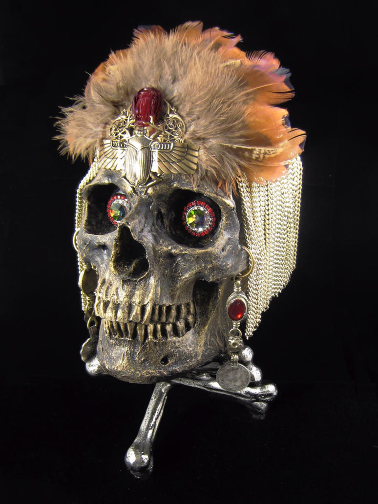 Cleopatra skull by bchurch