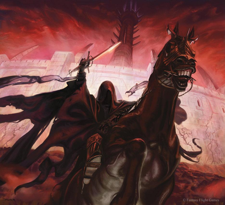 Nazgul of Minas Morgul by JakeMurray
